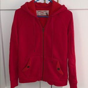 JCREW Sherpa hoodie. Size M